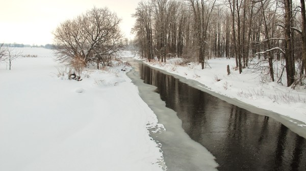 Sauble in winter